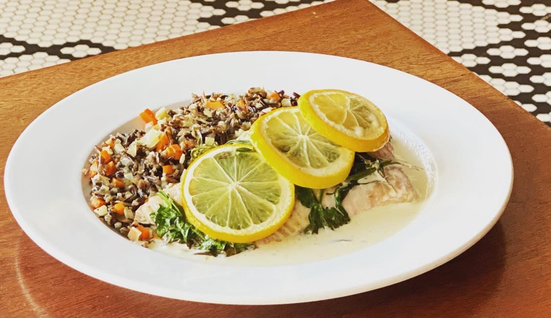 Lemon and Herb Baked Whitefish
